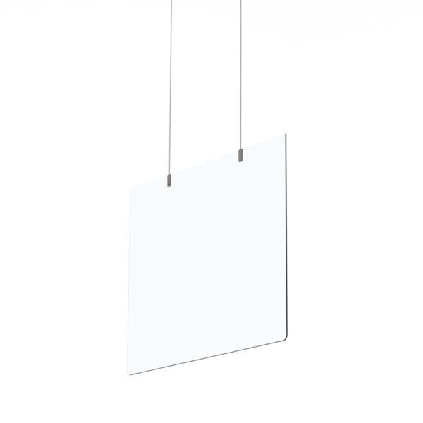 Séparateur suspendus en plexiglass
