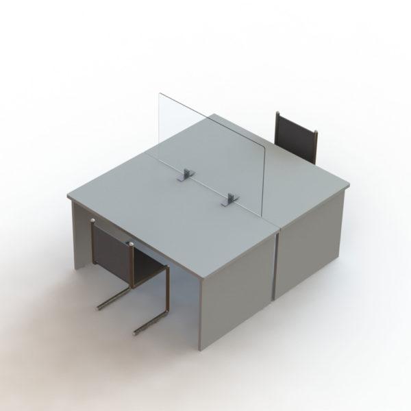 Séparateur de bureaux en plexi