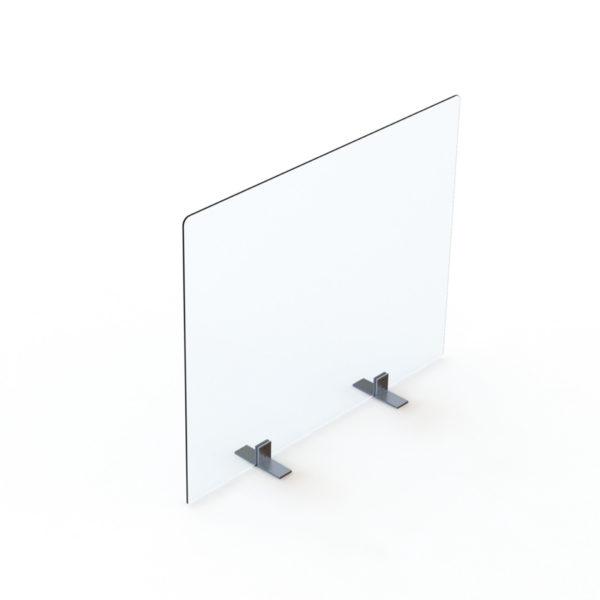 Séparateur de bureaux en plexiglass.